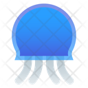 Jellyfish Sea Marine Icon