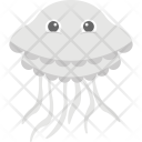 Jellyfish Sea Life Icon