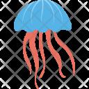 Jellyfish Sea Life Icon