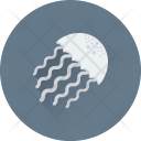 Jellyfish Fish Animal Icon