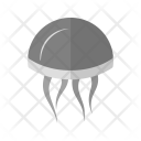 Jellyfish Fish Icon