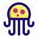 Jellyfish Jelly Sea Icon
