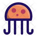Jellyfish Jelly Sea Icon
