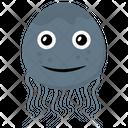 Jellyfish Sea Life Marine Creature Icon
