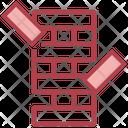 Jenga Wooden Gaming Icon