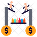 Risk Jeopardize Venture Icon