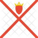 Jersey Flag World Icon