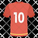 Jersey Shirt Wear Icon