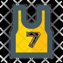 Jersey Uniform Basket Icon