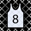 Jersey Cloth Garments Icon