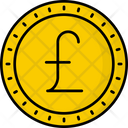 Jersey Pound Coin Money Icon