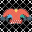 Jester Professional Joker Bells Cap Icon