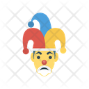 Jester Clown Face Icon