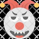 Clown Jester Emoji Icon