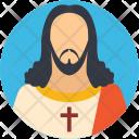 Jesus Christian Face Icon