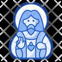 Jesus Farther God Icon