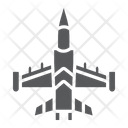 Jet Fighter Army Icon