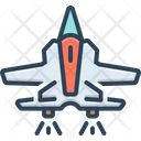 Jet Airliner Aircraft Icon