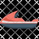 Jet Boat Motorboat Icon