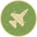 Aircraft Airplane Jet Icon
