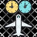 Jet Lag Icon