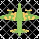Military Jet Plane Icon