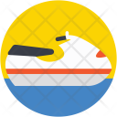 Jet Boat Water Icon