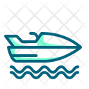 Jet Ski Jetski Motor Boat Icon