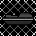 Jet Ski Submarine Ship Icon