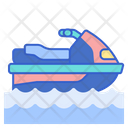 Jet Ski Waterscooter Water Craft Icon