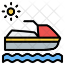 Boat Sea Summer Icon