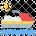 Boat Jet Ski Watercraft Icon
