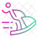 Jet Skiing Icon