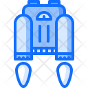 Jetpack Fire Science Icon