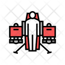 Jetpack Fly Transport Icon