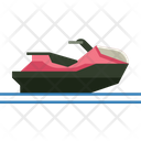 Jetski Travel Sport Icon
