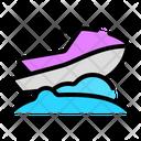 Jetski Transportation Vehicle Icon