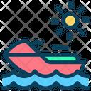 Jetski Sea Motorboat Icon