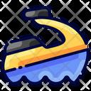 Jetsky Beach Buke Icon