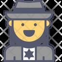 Jew Amish Star Icon
