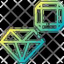 Jewelery Diamond Crystal Icon