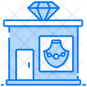 Marketplace Outlet Jewellery Shop Icon