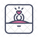 Jewelry Love Valentines Icon