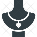 Jewelry Necklace Showcase Icon