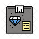 Jewelry Product Box Icon
