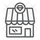 Jewelry Shop Building Icon