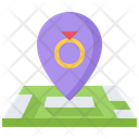 Jewelry Shop Location Icon