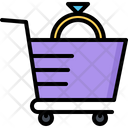 Cart Shop Ring Icon