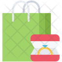 Bag Shopping Ring Icon