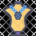 Jewelry Diamond Necklace Icon